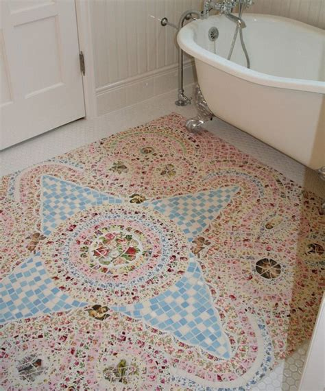 mosaic tiles for bathroom floor best 25 mosaic floors ideas on marble mosaic