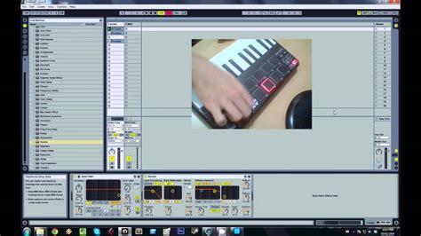 akai mpk mini tutorial 1 sle triggering basics akai mpk mini tutorial 4 using fx