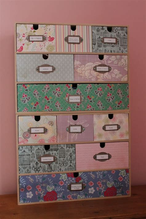 Ikea Craft Paper - if you are buying storage anyway why not make it into a