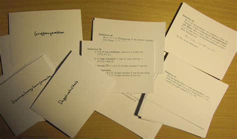 how to make study cards positioning creating flashcards with tex