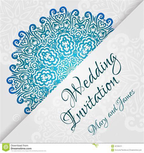 invitation card design vector lacy vector wedding card template romantic vintage