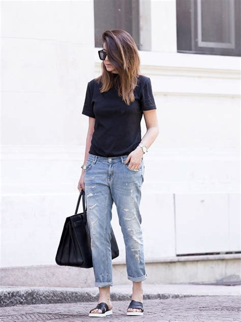 boyfriend jeans outfits  tips    wear