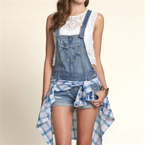 Dompet Fashion Ii 1 destroyed light wash overalls hollisterco my style
