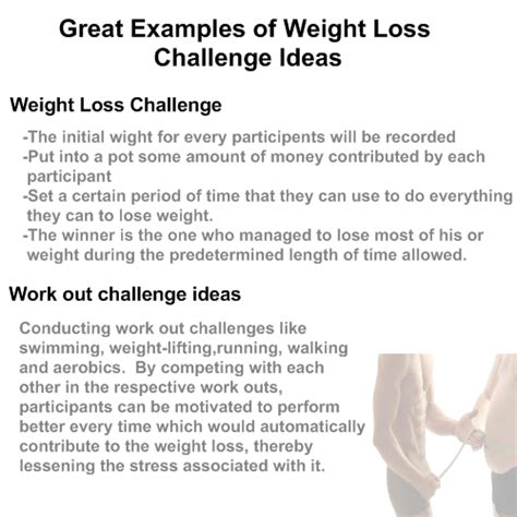 weight loss challenge ideas for the workplace weight loss competition ideas great weight loss challenges