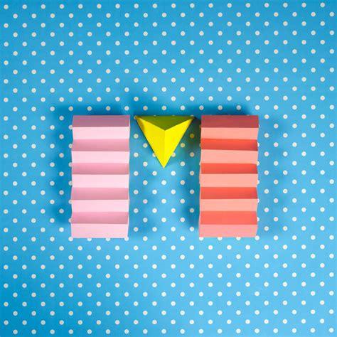 Paper Craft Letters - colorful paper craft alphabet fubiz media