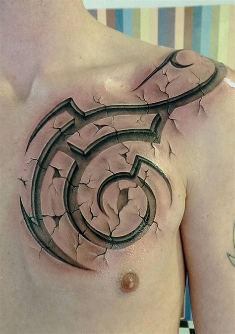 chest tattoo yahoo best 25 tribal chest tattoos ideas on pinterest chest
