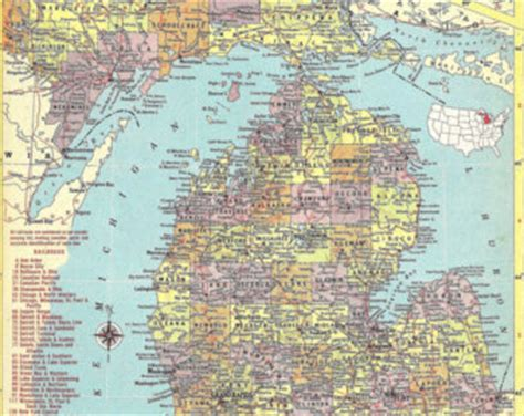 large map of michigan best photos of large print map of michigan southeast