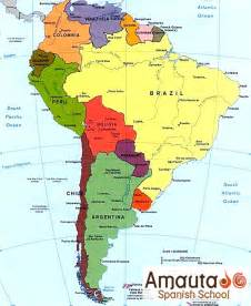 S America Map by Argentina Maps Amauta Spanish