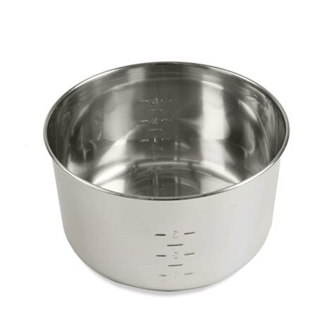 Jual Rice Cooker Stainless Steel Inner Pot 3 cup stainless steel inner pot inpt 3s tatung usa