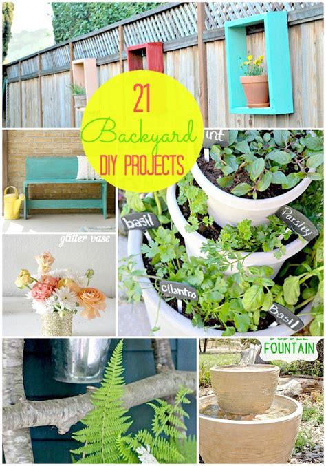 diy projects for backyard great ideas 21 backyard projects for spring