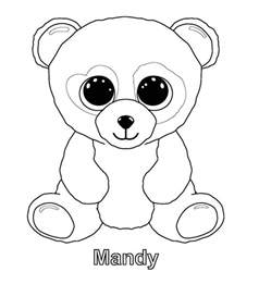 beanie boo coloring pages ty beanie boos coloring pages ideas