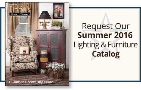 Home Decor Catalog Request by Irvin S Country Tinware