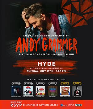 andy grammer fan club s curve hollywood records welcomes andy grammer to the