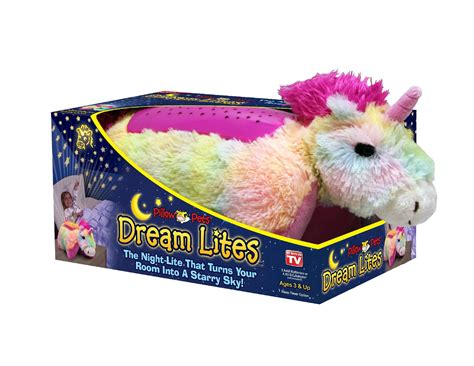 Lite Pillow Pet by Discover As Seen On Tv Pillow Pets Lites Rainbow