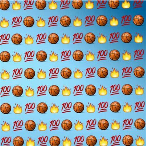 emoji sports wallpaper basketball ball emojis emoji wallpaper lockscreen