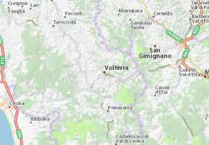 Volterra Italy Map by Map Of Volterra Michelin Volterra Map Viamichelin
