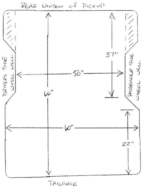 ford ranger bed dimensions ford ranger bed length 2003 bed bevrani com