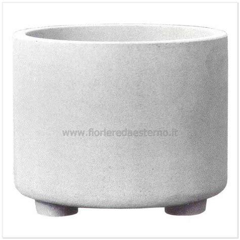 vasi cemento vasi cemento tondo liscio 03013557 poroso fioriere da