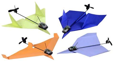 How To Make A Paper Airplane That Turns - powerup turns your paper airplane into an