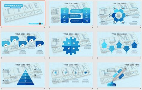Free Time Management Powerpoint 108615 Sagefox Time Management Ppt Templates Free