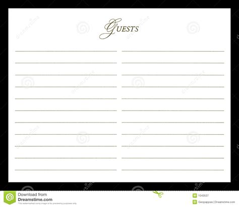wedding guest book royalty  stock photography image