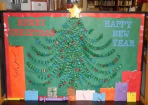 christmas tree bulletin board pics4learning