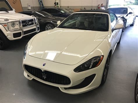 maserati granturismo 2016 white 2016 maserati granturismo sport convertible for sale in