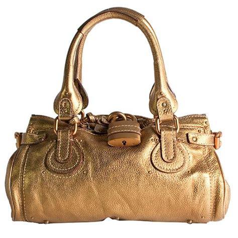 Big Metallic Paddington Tote Bag by Paddington Metallic Gold Satchel Handbag