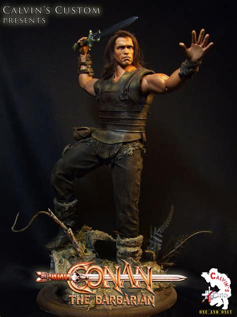 calvin s custom one sixth conan the barbarian figure