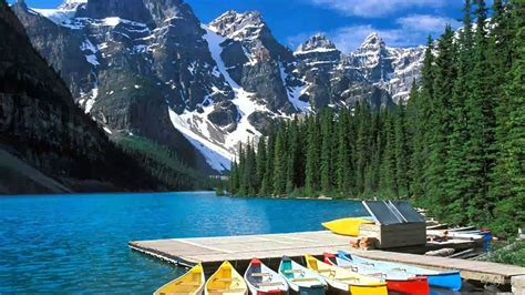 beautiful scenery western canada national parks