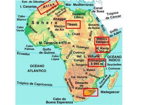 el blog de cristina el planisferio f 205 sico sus continentes - Principales Cadenas Montañosas Y Volcanes De Centroamerica