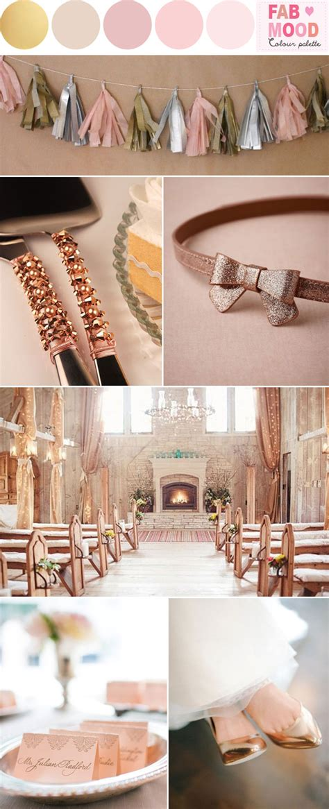 Wedding Theme Idea Pink And Gold Our One 5 by Pink And Gold Wedding