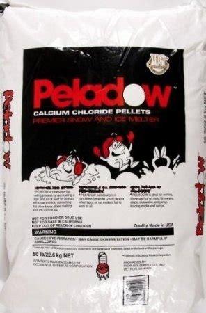 peladow calcium chloride pellets snow ice melter