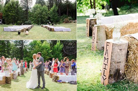 How To Do A Backyard Wedding by Ca Do It Yourself Wedding