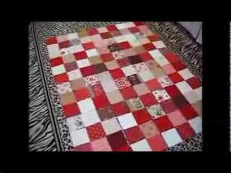 how to make a simple or baby quilt