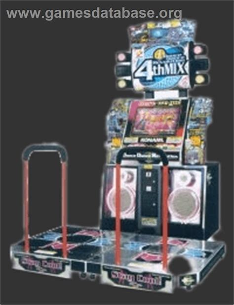 Ddr Cabinet by Revolution 4th Mix Arcade Database