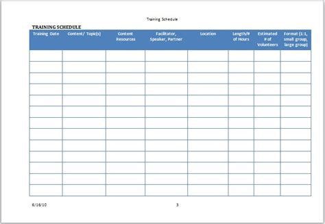 volunteer calendar template volunteer calendar template free template design