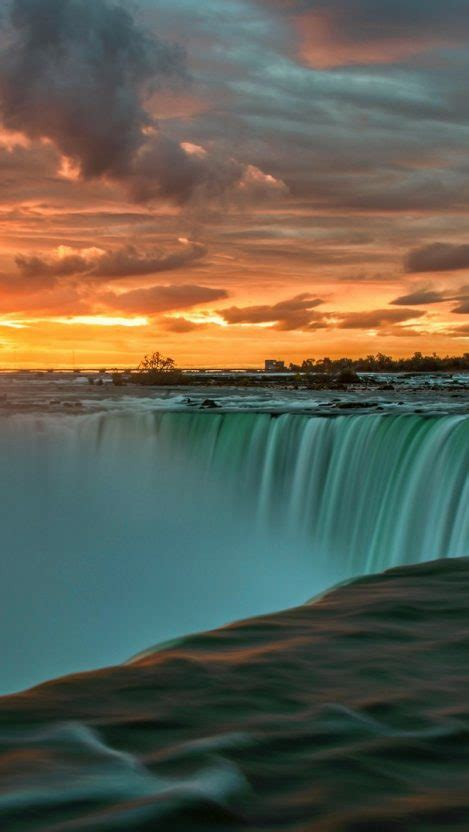 niagara falls sunset wallpaper iphone wallpaper iphone