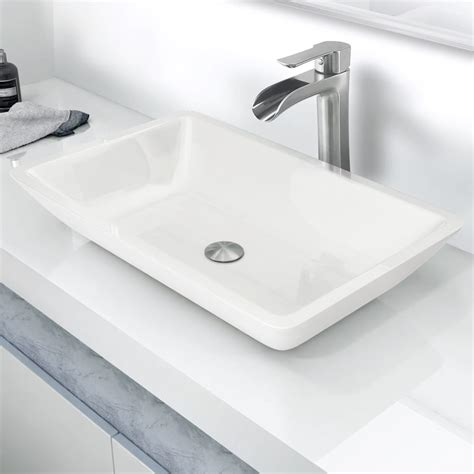 14 inch bathroom sink vigo industries vg07105 14 inch vessel bathroom sink with