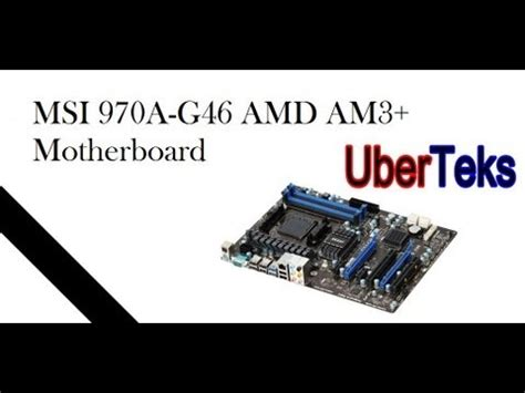 reset bios msi 970a g46 unboxing 2 msi 970a g46 motherboard doovi