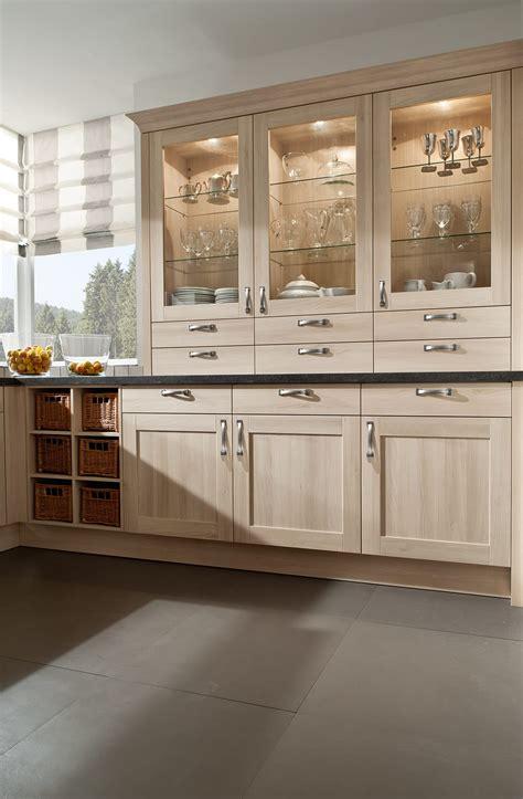 Moderne Einbauküche Classica 3400 Akazie Hell   Küchen Quelle