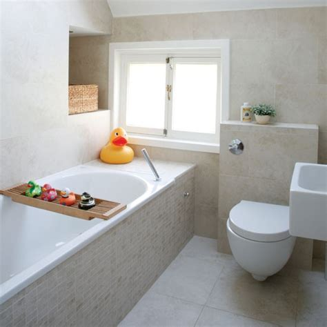 small neutral bathroom
