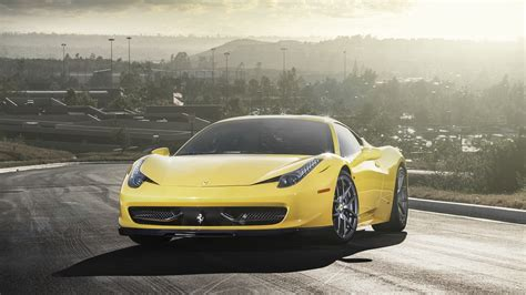 ferrari yellow wallpaper yellow ferrari 458 wallpaper wallpaper wallpaperlepi
