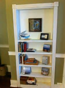 Bookshelf Trim Turn A Bookcase Into A Secret Door Diy Projects For