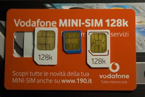 operatori italiani telefonia mobile le micro sim per iphone 4 e gli operatori italiani the