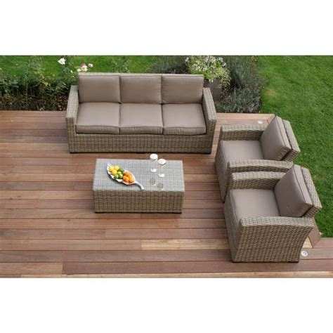 Wide Sofa Sets Wide Weave Large Sofa Set By Out There Exteriors