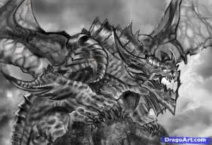 how to your dragons drawings how to sketch a realistic step by step dragons