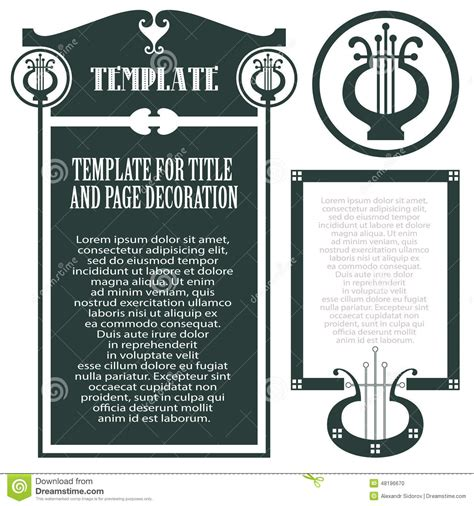 concert invitation card template vector template concert program envelope and other