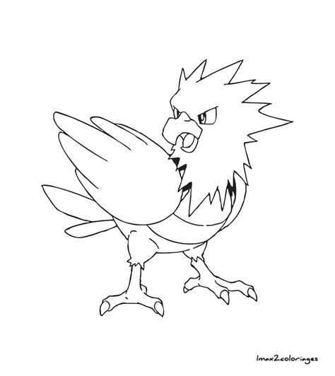 Coloriages Pokemon Piafabec Coloring Pages X And Y