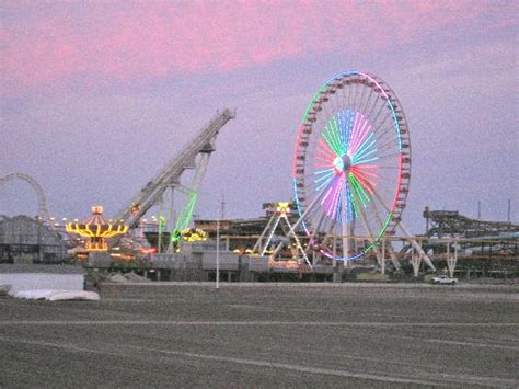 holly beach hotel bed breakfast wildwood nj ferris wheel at the amusement park on the wildwood boardwalk picture of holly beach